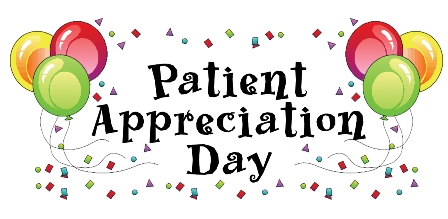 Patient Appreciation Day is June 14!!